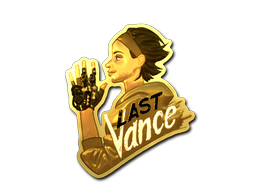 Sticker | Last Vance (Gold)