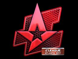 Наклейка | Astralis (металлическая) | Атланта 2017