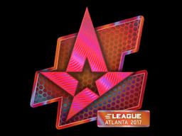 Наклейка | Astralis (голографическая) | Атланта 2017