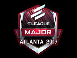 Наклейка | ELEAGUE (металлическая) | Атланта 2017