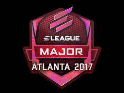 Наклейка | ELEAGUE (голографическая) | Атланта 2017