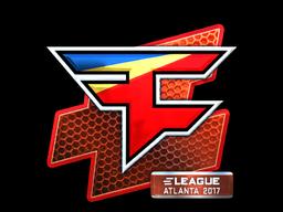 Наклейка | FaZe Clan (металлическая) | Атланта 2017