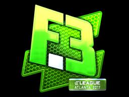 Наклейка | Flipsid3 Tactics (металлическая) | Атланта 2017