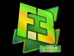 Наклейка | Flipsid3 Tactics (голографическая) | Атланта 2017