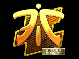 Наклейка | Fnatic (металлическая) | Атланта 2017
