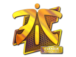 Наклейка | Fnatic (голографическая) | Атланта 2017