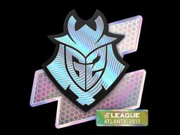 Наклейка | G2 Esports (голографическая) | Атланта 2017