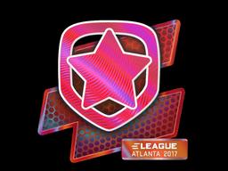 Наклейка | Gambit Gaming (голографическая) | Атланта 2017