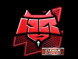 Наклейка | HellRaisers (металлическая) | Атланта 2017