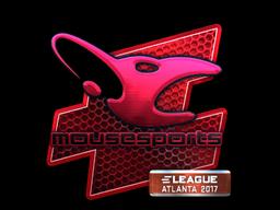 Наклейка | mousesports (металлическая) | Атланта 2017