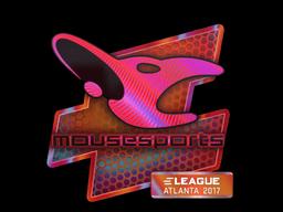 Наклейка | mousesports (голографическая) | Атланта 2017