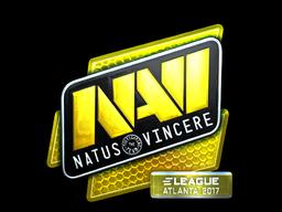Наклейка | Natus Vincere (металлическая) | Атланта 2017