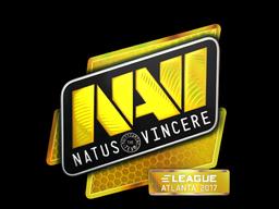 Наклейка | Natus Vincere (голографическая) | Атланта 2017