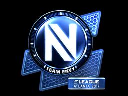 Наклейка | Team EnVyUs (металлическая) | Атланта 2017