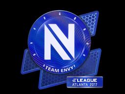 Наклейка | Team EnVyUs (голографическая) | Атланта 2017
