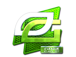 Наклейка | OpTic Gaming (металлическая) | Атланта 2017