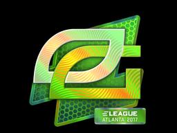 Наклейка | OpTic Gaming (голографическая) | Атланта 2017