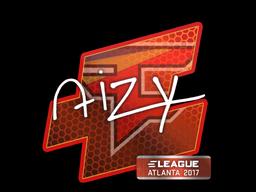 Наклейка | aizy | Атланта 2017