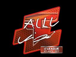 Наклейка | allu | Атланта 2017