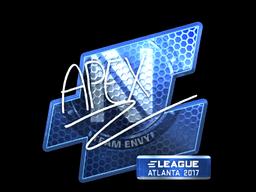 Sticker   apEX (Foil)   Atlanta 2017