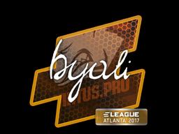 Наклейка | byali | Атланта 2017