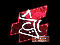 Sticker   chrisJ (Foil)   Atlanta 2017