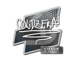 Sticker   coldzera   Atlanta 2017