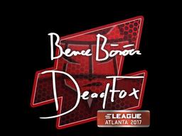 Sticker | DeadFox | Atlanta 2017