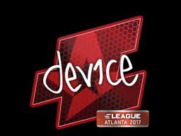 Sticker | device | Atlanta 2017