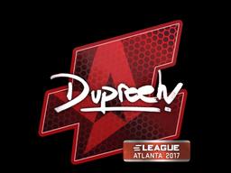 Sticker | dupreeh | Atlanta 2017