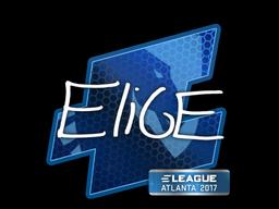 Наклейка | EliGE | Атланта 2017