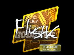 Sticker   flusha (Foil)   Atlanta 2017