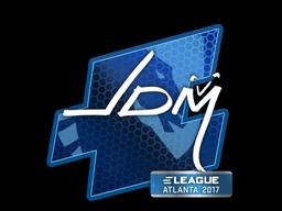 Наклейка | jdm64 | Атланта 2017