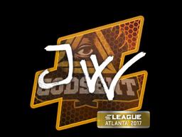 Наклейка   JW   Атланта 2017