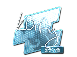 Sticker   k0nfig (Foil)   Atlanta 2017