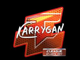 Sticker   karrigan (Foil)   Atlanta 2017