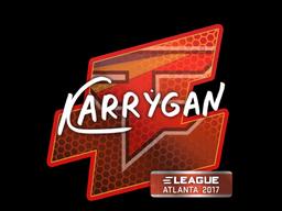 Наклейка | karrigan | Атланта 2017