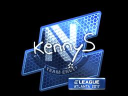Sticker   kennyS (Foil)   Atlanta 2017