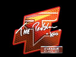 Sticker   kioShiMa (Foil)   Atlanta 2017