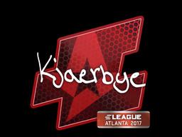 Sticker | Kjaerbye | Atlanta 2017