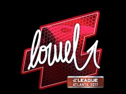 Sticker   loWel (Foil)   Atlanta 2017
