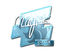 Sticker   Magisk (Foil)   Atlanta 2017
