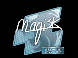 Наклейка | Magisk | Атланта 2017