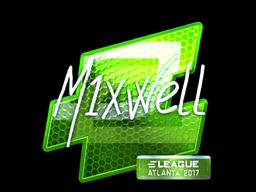 Sticker   mixwell (Foil)   Atlanta 2017