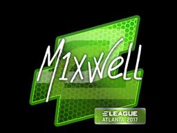 Наклейка | mixwell | Атланта 2017