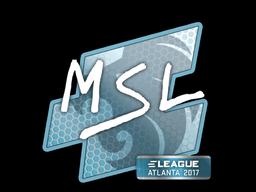 Наклейка | MSL | Атланта 2017