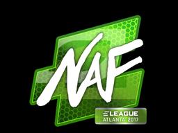 Наклейка | NAF | Атланта 2017