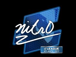Наклейка | nitr0 | Атланта 2017