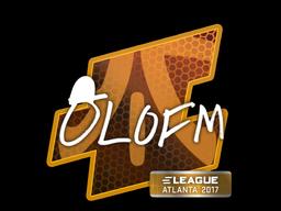 Наклейка | olofmeister | Атланта 2017