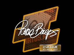 Наклейка | pashaBiceps | Атланта 2017